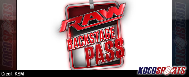 "Video: WWE Raw – ""Backstage Pass"" – 05/26/14 – (Full Show)"