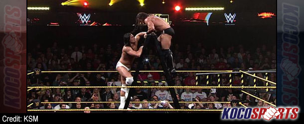 WWE NXT Arrival results – 02/27/14 – (Adrian Neville beats Bo Dallas to become the new NXT champion!)