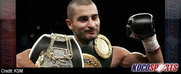 Professional boxing champ, Vic Darchinyan, signed to make MMA debut