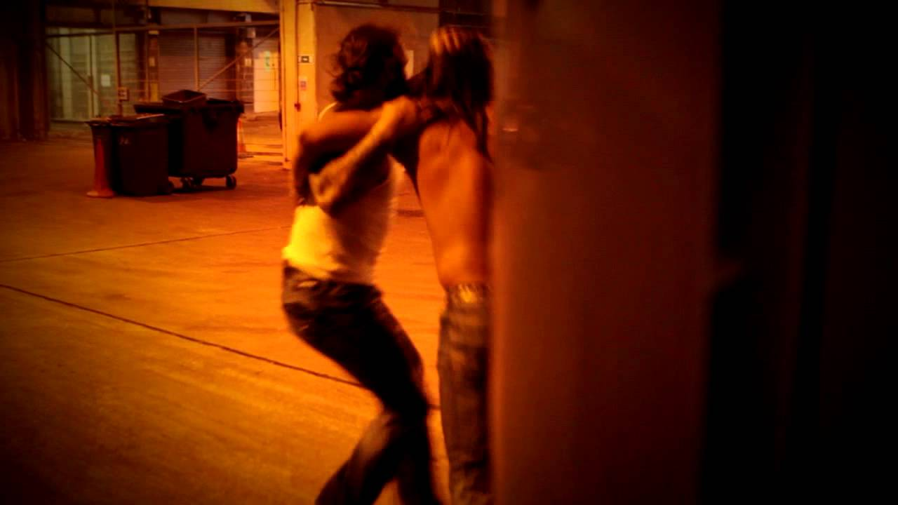Backstage Brawl between Gunner and James Storm (February 27, 2014)