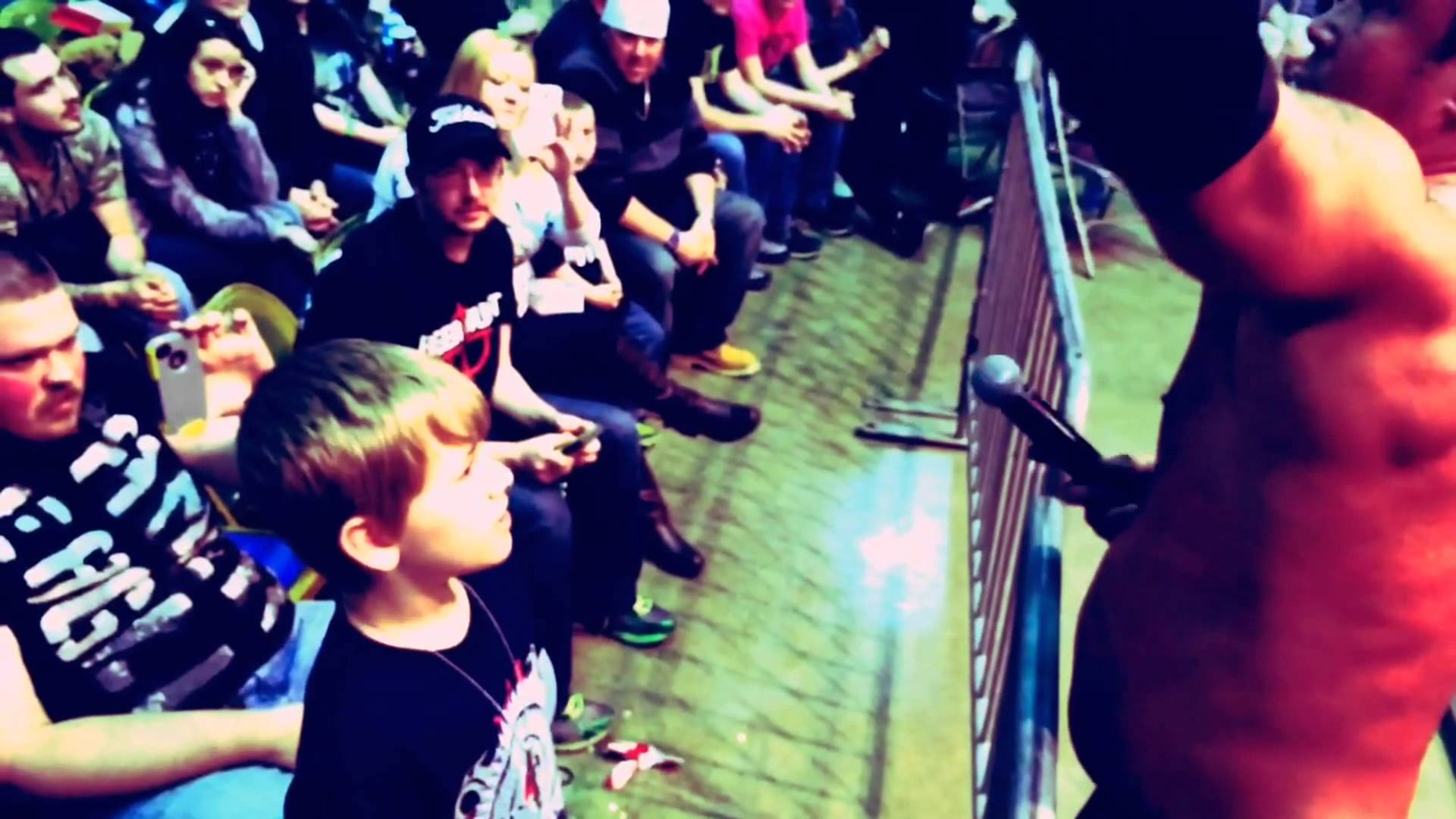 #IMPACT365 Mr. Anderson Finds A Guest Ring Announcer In Beckley, WV