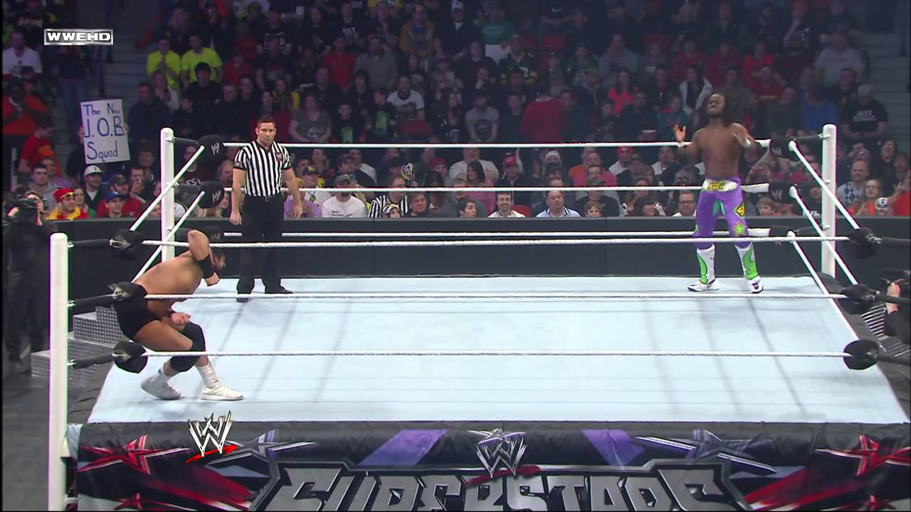 Kofi Kingston vs. Damien Sandow: WWE Superstars, Feb. 27, 2014
