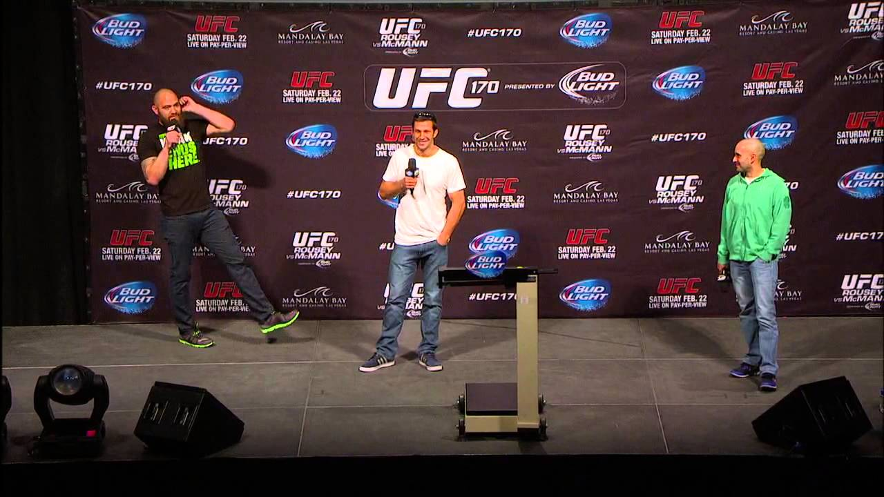 UFC 170: Fight Club Q&A with Browne and Rockhold
