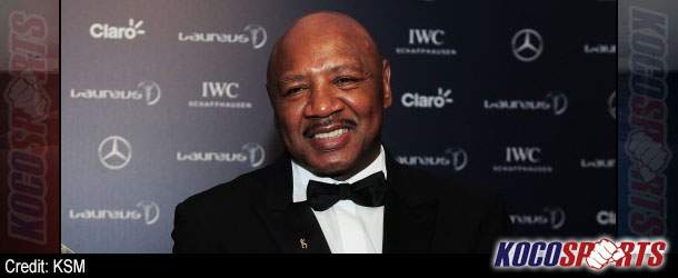 "Retired boxing legend, Marvin Hagler, compares MMA to ""bar fighting"""
