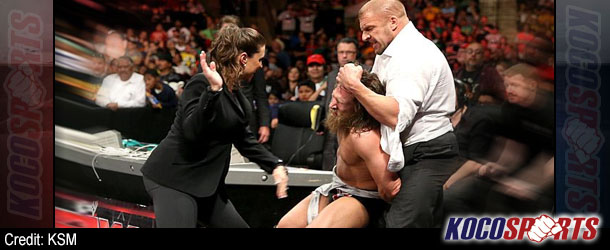 WWE Monday Night Raw results – 03/17/14 – (Bryan suffers St. Patrick's Day Massacre;Triple H changes the game!)