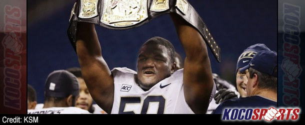 University of Pittsburgh's Tyrone Ezell says WWE is a possibility if not drafted by NFL
