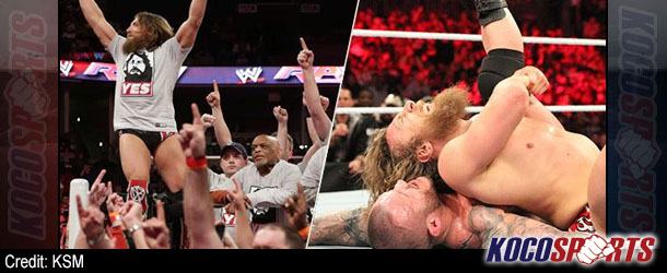 """WWE Monday Night Raw results – 03/10/14 – (Bryan occupies Raw; Triple H says """"YES!"""")"""