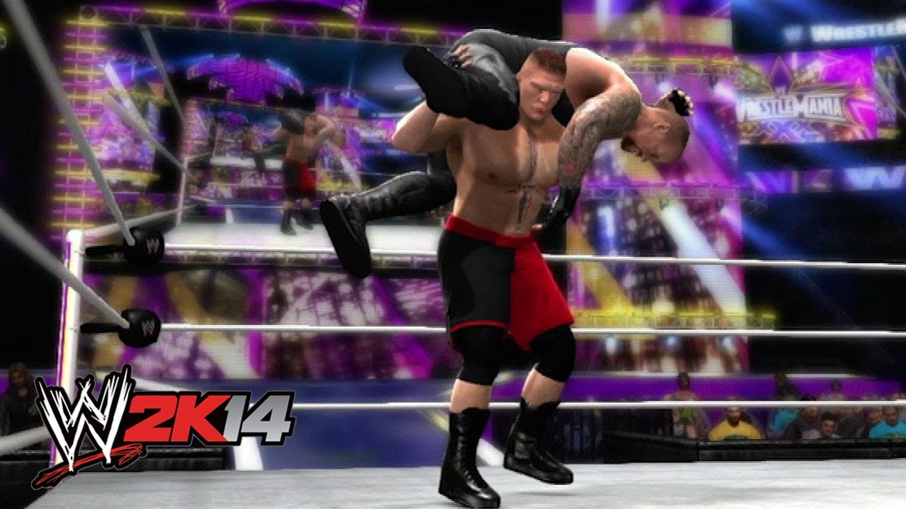 Brock Lesnar defeats The Undertaker at WrestleMania 30: WWE 2K14 Simulation