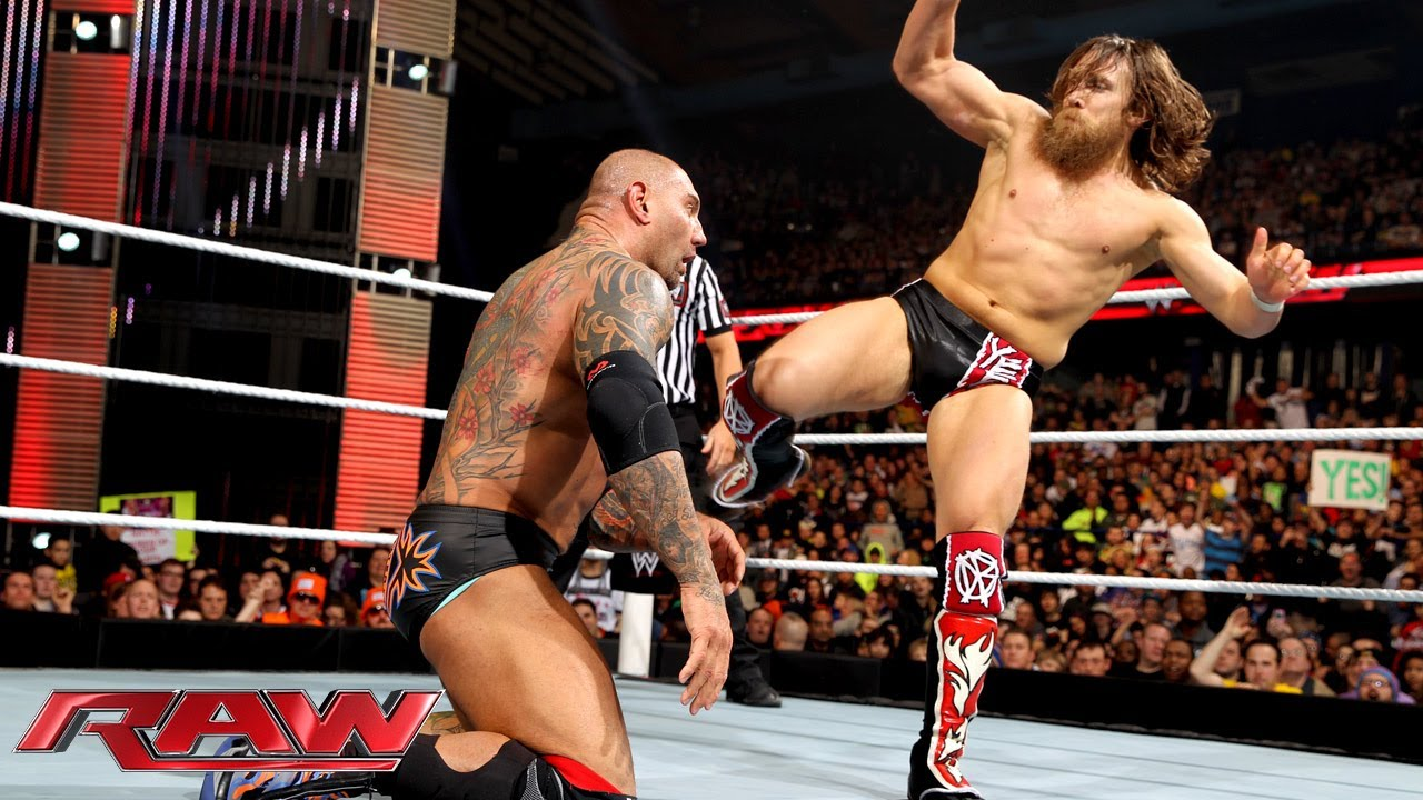 Daniel Bryan vs. Batista: Raw, March 3, 2014