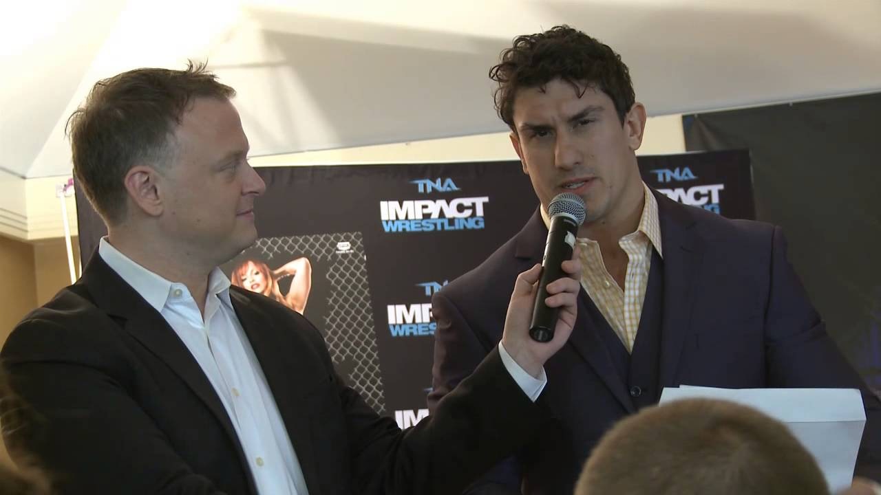 #IMPACT365 Ethan Carter III Press Conference with a message for Kurt Angle