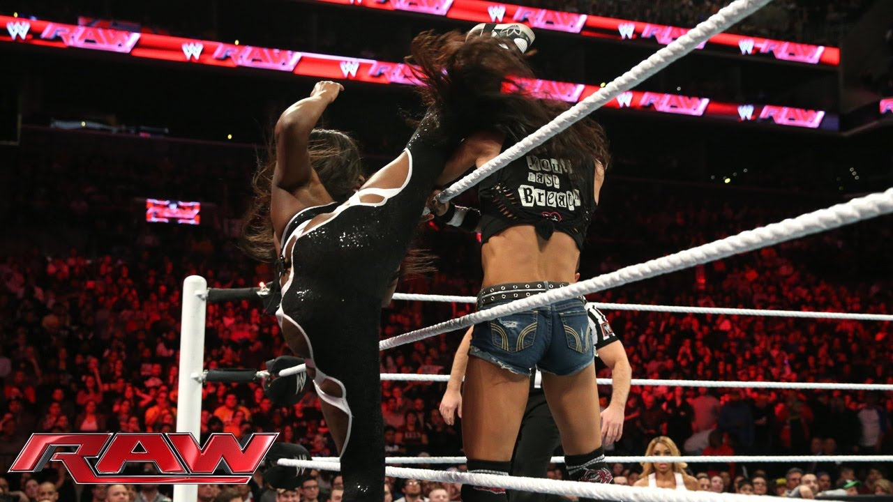Naomi  vs. AJ Lee: Raw, March 24, 2014