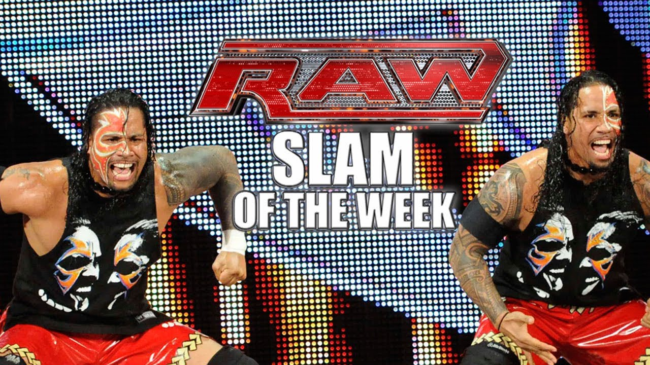 The Usos Take Home The Gold – WWE Raw Slam of the Week 3/3