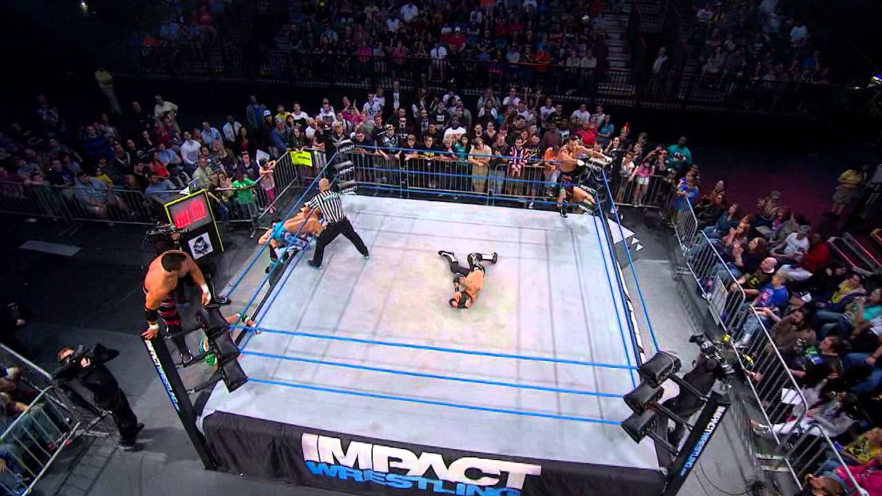 TNA World Tag Team Title Match (March 20, 2014)