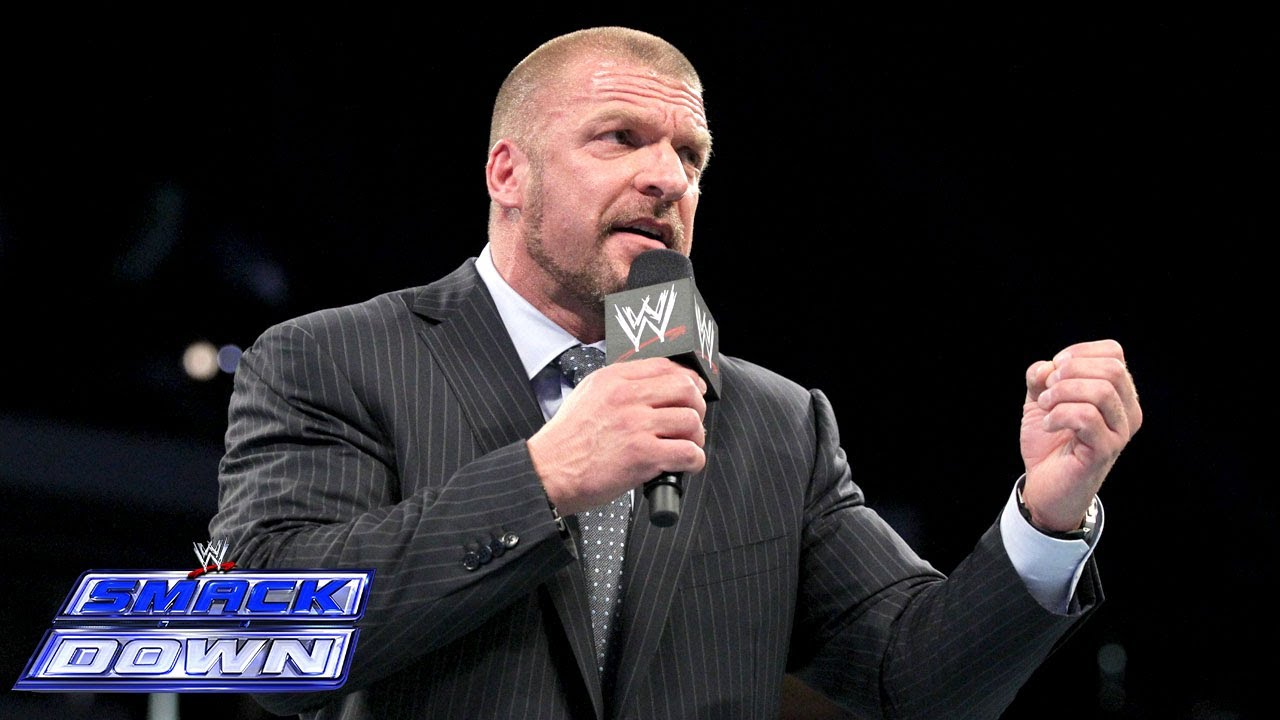 """Triple H ridicules the """"Yes!"""" Movement: SmackDown, March 14, 2014"""