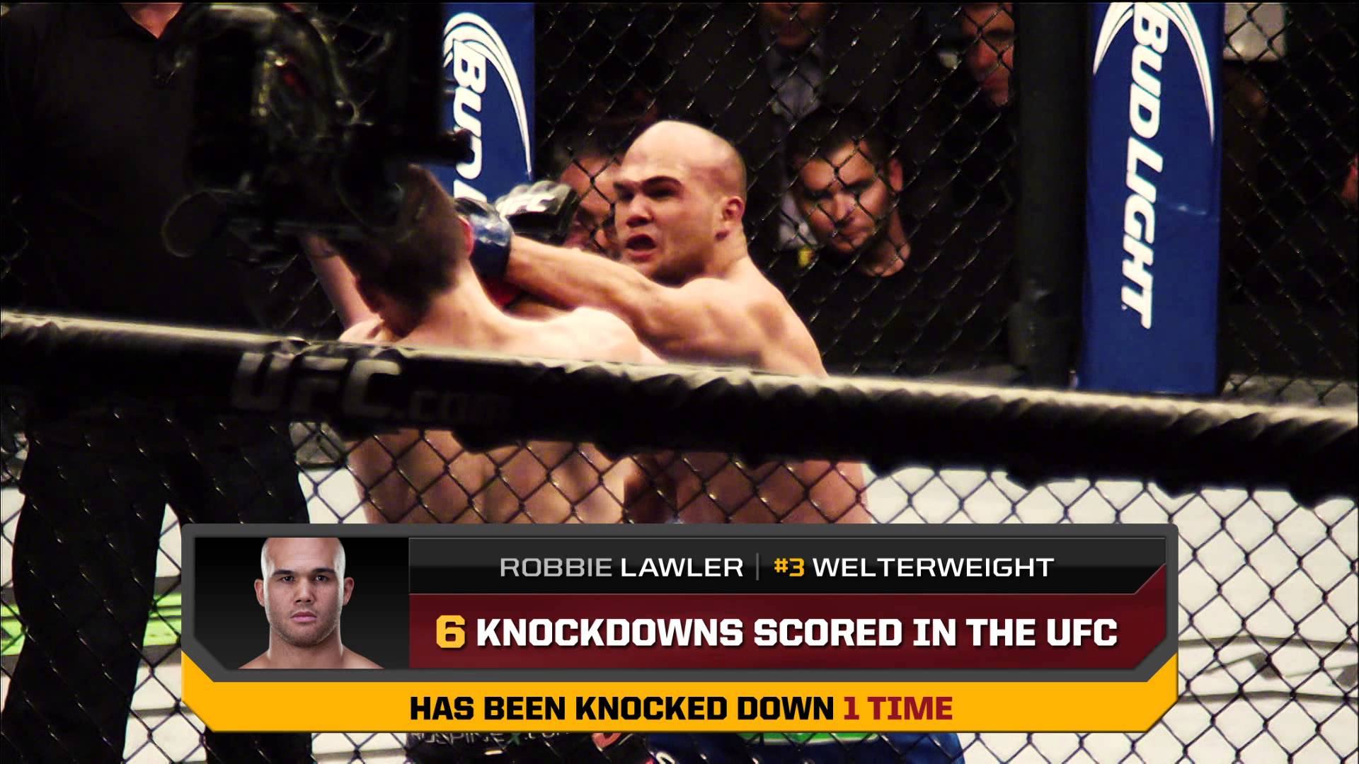 UFC 171: Hendricks vs. Lawler By the Numbers