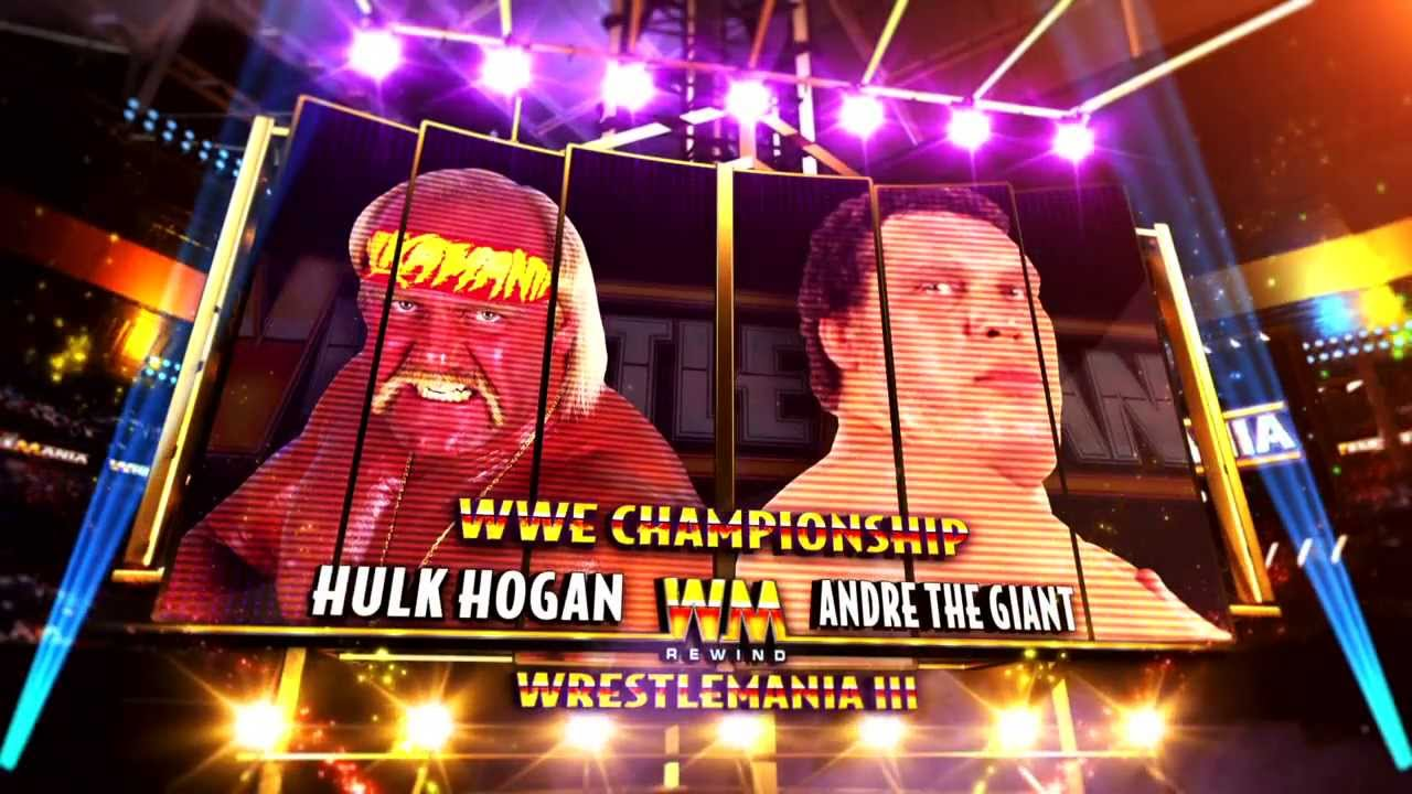 WrestleMania Rewind – Hulk Hogan vs. Andre The Giant – This Tuesday 9/8c on WWE Network