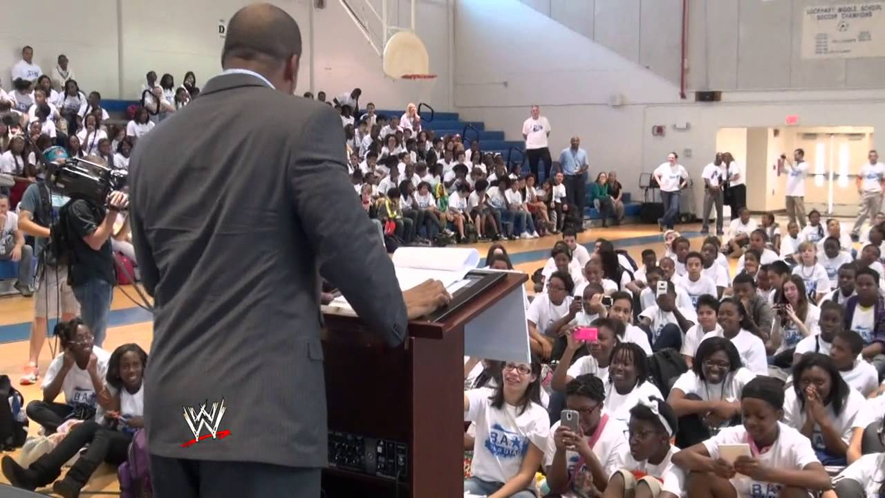 WWE hosts a Be a STAR rally in Orlando: March 4, 2014