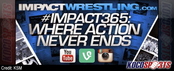 Video: #IMPACT365 – (Gunner moments after his match at Sacrifice 2014)