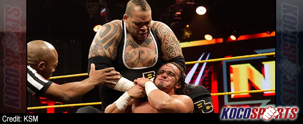WWE NXT results – 04/17/14 – (Adrian Neville edges a victory over Brodus Clay)