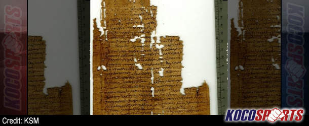 Researchers decipher Greek document from 267 A.D. that shows an ancient wrestling match was fixed