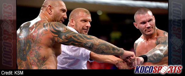 """WWE Monday Night Raw results & footage – 04/14/14 – (Evolution reforms to break The Shield; Cena issues """"Extreme"""" challenge!)"""