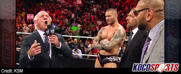 Video: WWE Raw coverage – 04/28/14 – (Ric Flair addresses Evolution and The Shield)