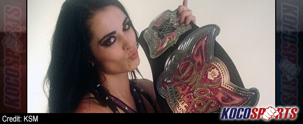 Paige Knight makes her Monday Night Raw debut and wins the WWE Divas Title!