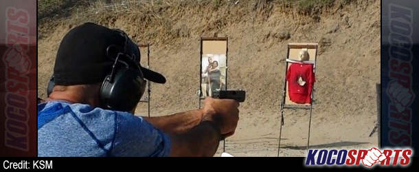 Video: UFC legend, Royce Gracie, shows off his expert firearm handling skills