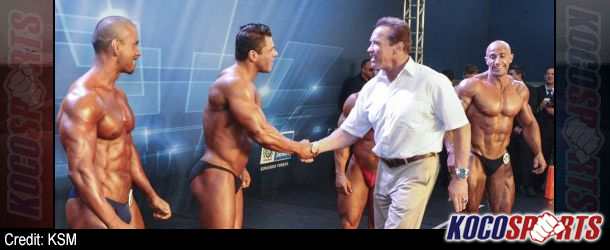 "Schwarzenegger talks about the success of the ""Arnold Classic"" in Brazil; Steve Kuclo takes the gold"
