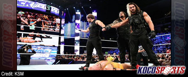 """WWE Friday Night Smackdown results – 04/25/14 – (The Shield """"adapted"""" into absolute Smackdown dominance)"""