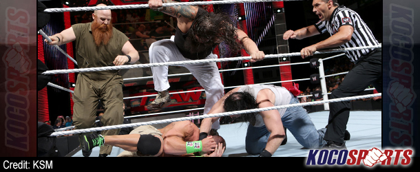 WWE Monday Night Raw results & footage – 04/21/14 – (Monsters and demons reign; Kane attacks Bryan; Wyatts swarm Cena!)