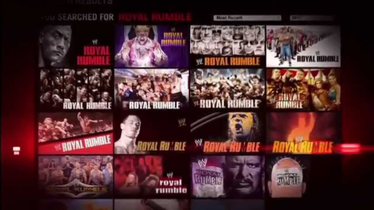 Start your one-week-free trial of WWE Network today