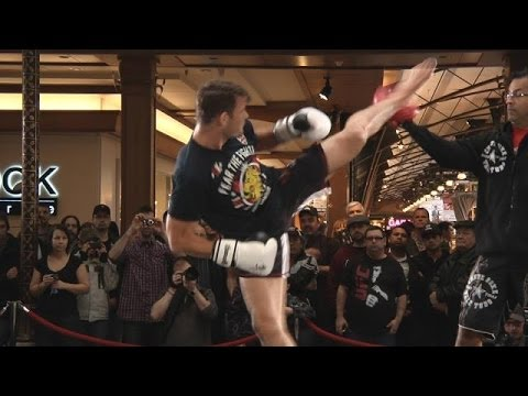 TUF Nations Finale: Open Workout Highlights