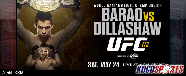 "Video: UFC 173 ""Barão vs. Dillashaw"" – 05/24/14 – (Full Show)"