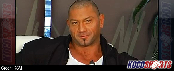 "Video: Dave Batista talks about his role in new 007 ""Spectre"" movie; says he was always butting heads with WWE"