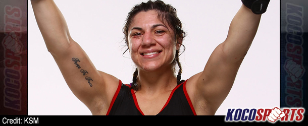 "Bethe Correia looking to take out second member of ""The Four Horsewomen"" Shayna Baszler at UFC 176"