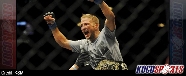 Video: TJ Dillashaw makes his first title defense against former bantamweight king Renan Barao at UFC 177