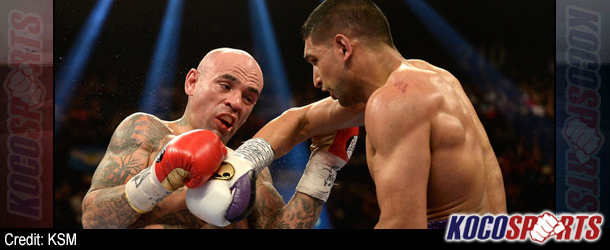 Amir Khan wins ugly but eventful fight against Luis Collazo