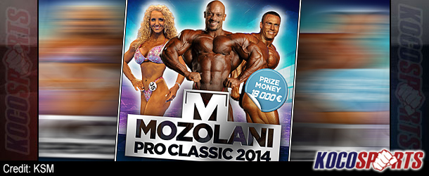 Video: IFBB Mozolani Pro 2014 – (212lbs Comparisons, Routines, Awards & Posedown!)
