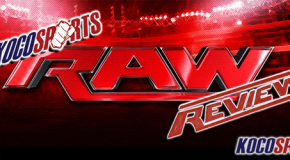 "KocoSports- ""WWE Monday Night Raw"" Review – 4/6/15 – (Ryback vs. Reigns vs. Orton)"