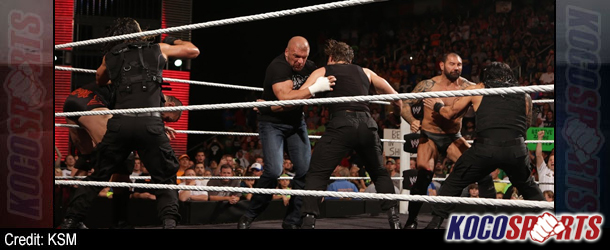 Video: WWE Raw coverage – 05/26/14 – (The Shield vs. Evolution WWE Payback contract signing)
