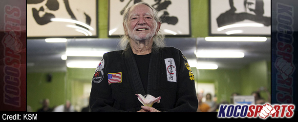 Willie Nelson earns his Fifth-Degree Black Belt in Gong Kwon Yu Sul