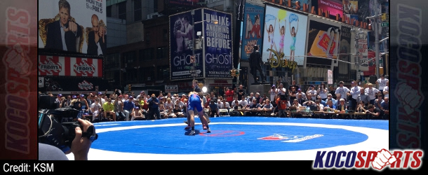 USA defeats World All-Stars 8-3 in Beat the Streets amateur wrestling event in Times Square