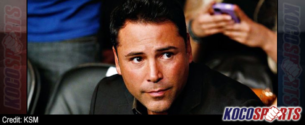 "Video: Oscar De La Hoya – ""It's great that Bob Arum signed Pacquiao; I want to end this promotional Cold War"""