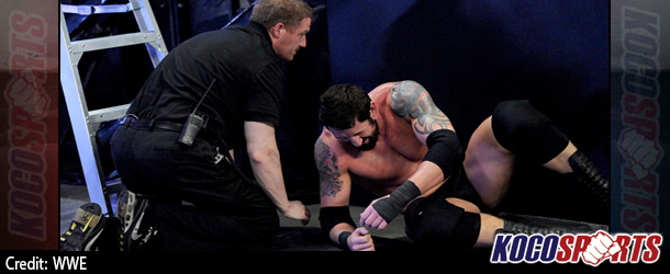 "WWE Intercontinental Champion Wade ""Bad News"" Barrett injured during SmackDown taping"
