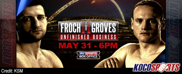 """Video: Unfinished Business – """"Carl Frosh vs. George Groves"""" – 05/31/14 – (Full Fight)"""