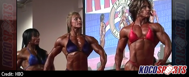 Video: Real Sports with Bryant Gumbel takes a look at the negative side of female bodybuilding