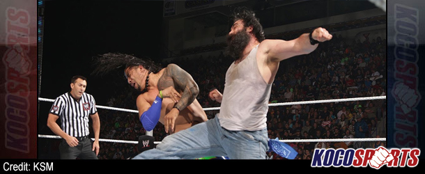 Video: WWE Main Event coverage – 06/10/14 – (Jimmy Uso vs. Luke Harper)