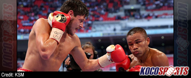 UK's Jamie McDonnell picks up WBA belt with stoppage win over Thailand's Tabtimdaeng Na Rachawat