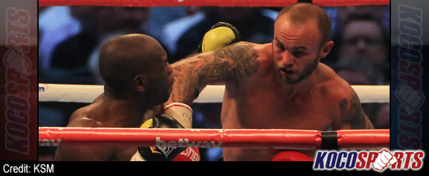 Kevin Mitchell rallies to stop Ghislain Maduma in 11th round